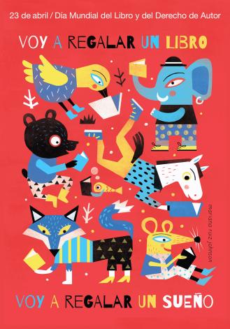 Afiche-Cartel-Dia-Mundial-del-Libro-2016-ilustradora-Mariana-Ruiz-Johnson