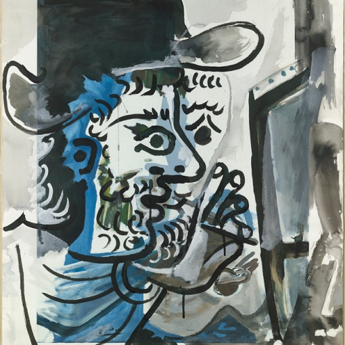 Pablo_Picasso_Le peintre au travail_Colecci¢n Telef¢nica_copyVEGAP2016